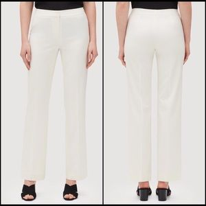 Lafayette 148 New York Ivory Trousers